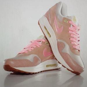 Nike Wmn AIRMAX1 PREMIUM polarized pink/clay 10.5